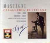 Album artwork for Mascagni: Cavalleria Rusticana / Gigli, Bechi