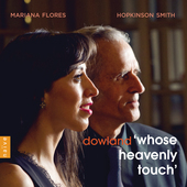 Album artwork for Dowland: Whose Heavenly Touch - Lute Songs