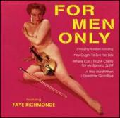 Album artwork for Faye richmonde For Men Only