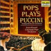 Album artwork for Pops Plays Puccini / Kunzel, Cincinnati Pops
