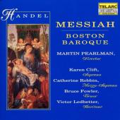 Album artwork for Handel: Messiah / Boston Baroque, Pearlman