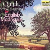 Album artwork for English Madrigals: Works by Byrd, Weelkes, Morley,