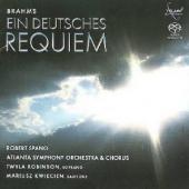 Album artwork for Brahms: Ein Deutsches Requiem - SPANO