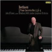 Album artwork for Beethoven: Piano Concertos 1, 3, 4 (O'Connor)