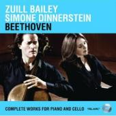 Album artwork for Beethoven: Complete Works for Cello and Piano (Bai