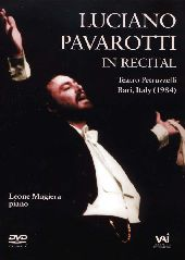 Album artwork for Luciano Pavarotti:The 1984 Bari Recital