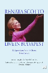 Album artwork for RENATA SCOTTO - LIVE IN BUDAPEST