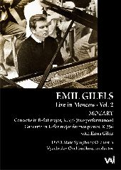 Album artwork for Emil Gilels: Live in Moscow Vol. 2