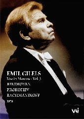 Album artwork for Emil Gilels: Live in Moscow Vol. 3, 1978