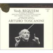 Album artwork for Verdi: Requiem, Te Deum, Choruses / Toscanini