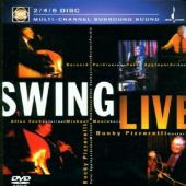 Album artwork for SWING LIVE (2/4/6 MULTI-CHANNE