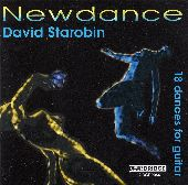 Album artwork for David Starobin: Newdance - 18 Dances for Guitar