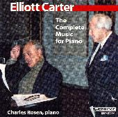 Album artwork for Carter: The Complete Music for Piano