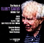 Album artwork for Carter: The Music of Elliot Carter Vol. 4