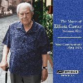 Album artwork for Carter: The Music of, Vol. 5 - Nine Compositions