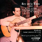 Album artwork for REY DE LA TORRE GUITAR W/ STUVESANT STRING QUARTET