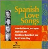 Album artwork for Spanish Love Songs (Lieberson, Kaiser)