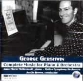 Album artwork for Gershwin: Complete Music for Piano and Orchestra