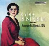 Album artwork for Nadia Resenberg: Concert at Carnegie Hall, 1947