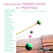 Album artwork for Intermediate Masterworks for Marimba