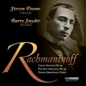 Album artwork for Rachmaninoff: Works for Cello