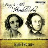 Album artwork for Fanny & Felix Mendelssohn: Piano Music / Polk