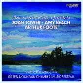 Album artwork for Tower, Foote, Beach: Flute Quintets