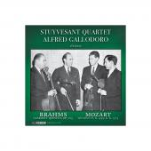 Album artwork for Brahms: Clarinet Qnt., Mozart: String Qts. / Stuyv