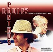 Album artwork for Boulez: Complete Piano Music / Ponthus