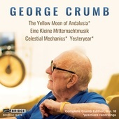 Album artwork for Crumb: Vocal and Instrumental Works, Vol. 18