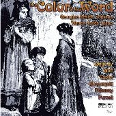 Album artwork for THE COLOR OF THE WORD