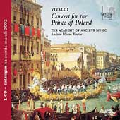Album artwork for Vivaldi: Concert for the Prince of Poland (Manze)