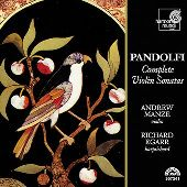 Album artwork for Pandolfi: Complete Violin Sonatas (Manze)