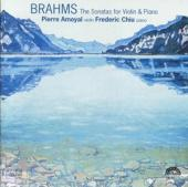 Album artwork for BRAHMS - SONATAS FOR VIOLIN AND PIANO