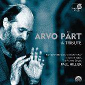 Album artwork for Arvo Pärt - A Tribute / Hillier, Theatre of Voice