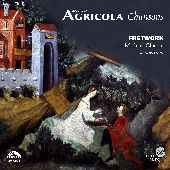 Album artwork for Agricola: Chansons / Michael Chance, Fretwork