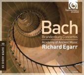 Album artwork for Bach: Brandenburg Concertos / Egarr