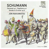 Album artwork for SCHUMANN. Carnaval, Papillons, Piano Sonata No.2.