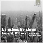 Album artwork for Clarinet Sonatas by Bernstein, Gershwin, etc