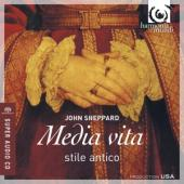 Album artwork for John Sheppard: Media vita / Stile Antico