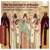 Album artwork for The Sacred Spirit of Russia. Conspirare/Johnson