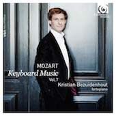 Album artwork for MOZART. Keyboard Music Vol.7. Bezuidenhout