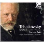 Album artwork for Tchaikovsky: Symphonies 4,5&6 / Gatti