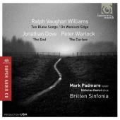 Album artwork for Vaughan Williams:  Blake Songs. Padmore