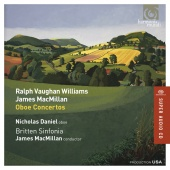 Album artwork for VAUGHAN WILLIAMS. MACMILLAN.  Oboe Concertos. Dani
