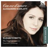 Album artwork for SCARLATTI. Con eco d'amore. Watts/English Concert