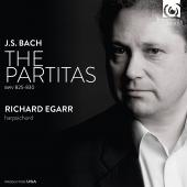 Album artwork for J.S  Bach: Partitas / Richard Egarr