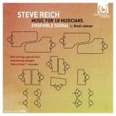 Album artwork for REICH. Music for 18 Musicians. Ensemble Signal/Lub