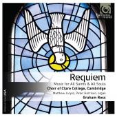 Album artwork for Victoria: Requiem. Clare College Choir/Ross