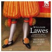 Album artwork for William Lawes: Complete Music for Solo Lyra Viol
